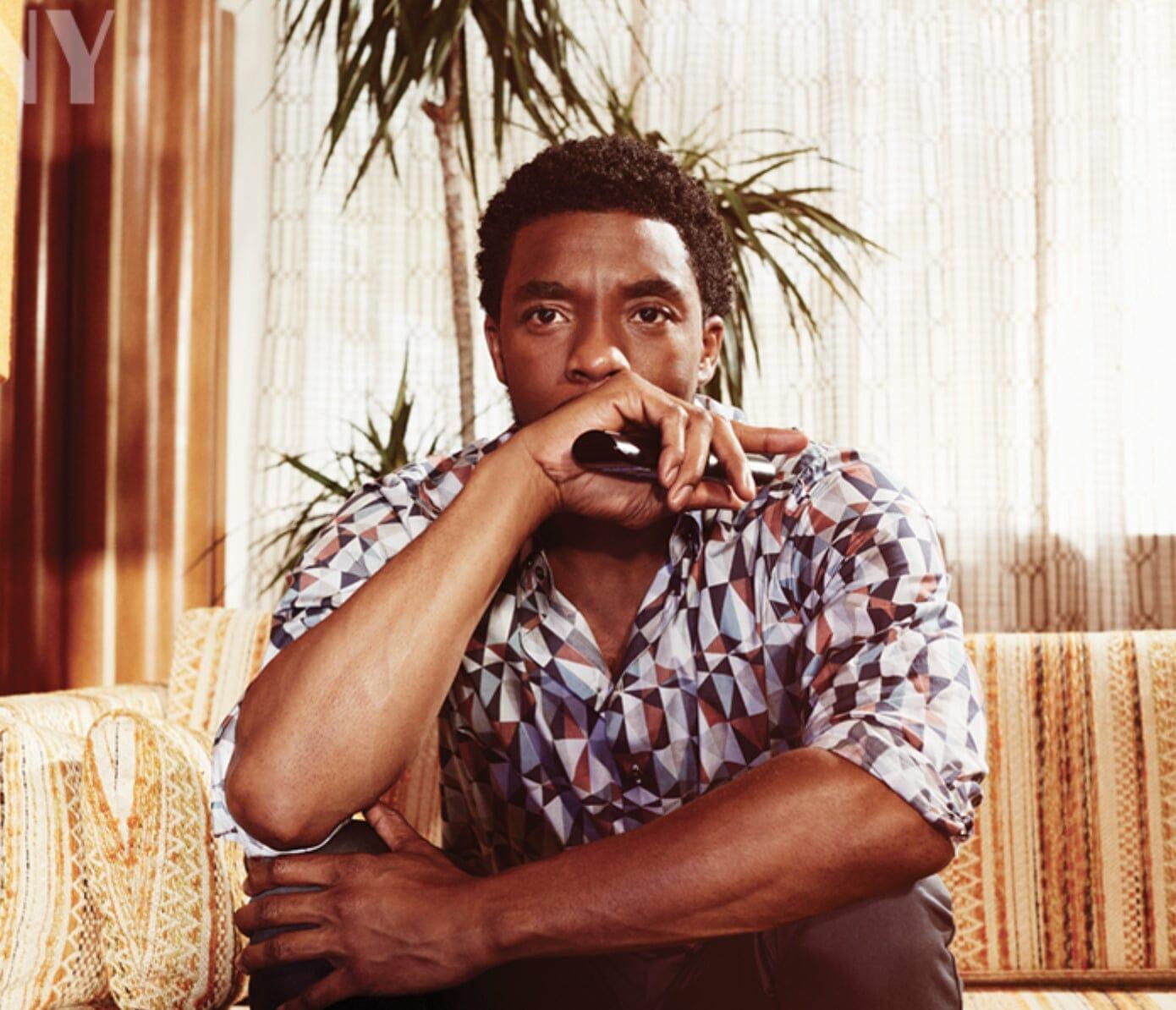 Chadwick Boseman chest
