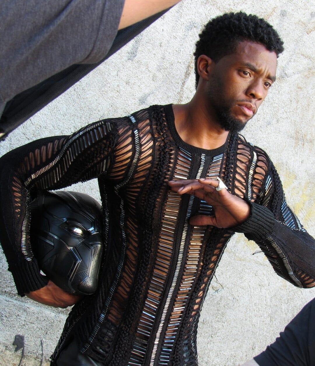 Chadwick Boseman nudes