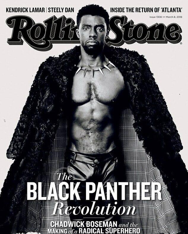 Chadwick Boseman porno picture