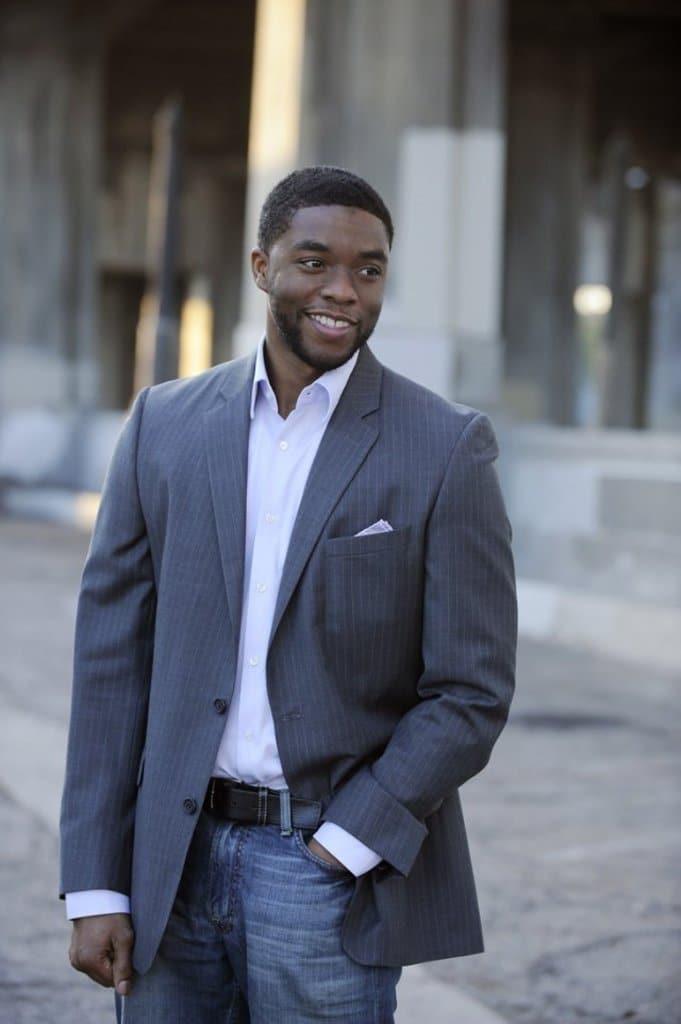 Chadwick Boseman suit