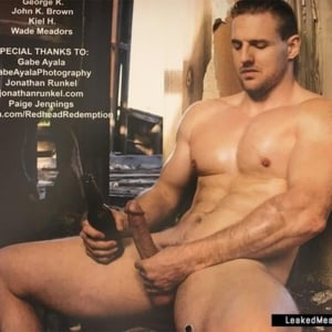 Cody Deal hard penis pic