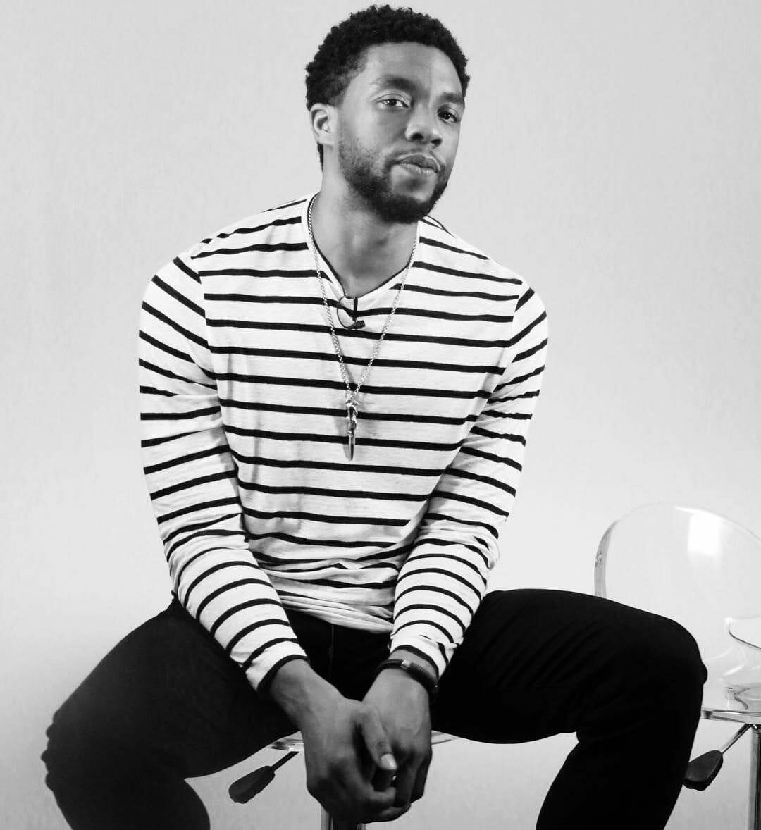 Chadwick Boseman leaked pics