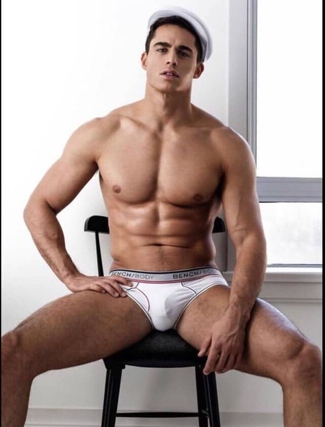 Pietro Boselli bulge revealed in shoot