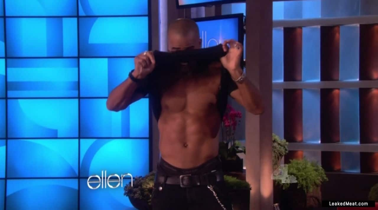 Shemar Moore chest