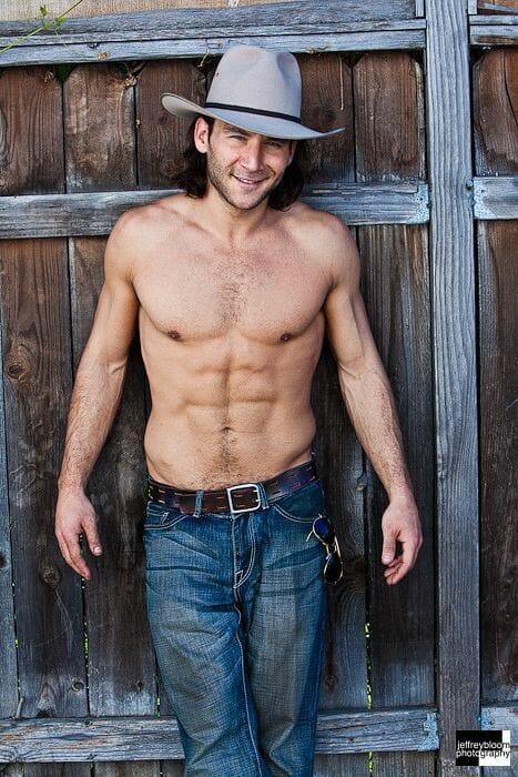 Zach McGowan shirtless and sexy