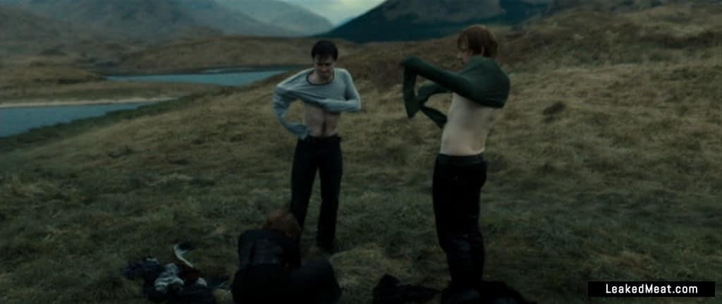 Daniel Radcliffe butt