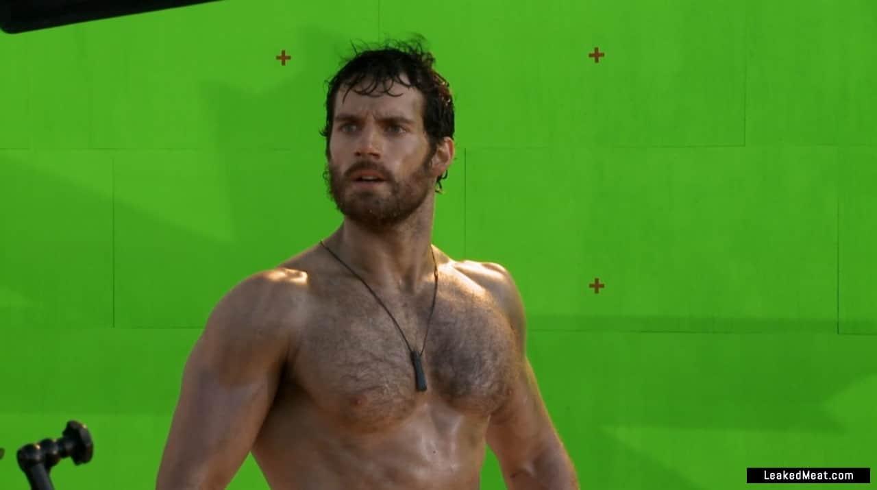 Henry Cavill sexy naked