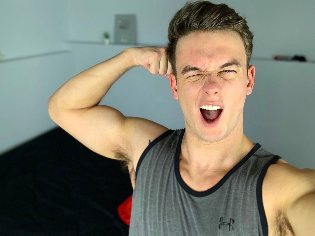 Blake McPherson Muscles