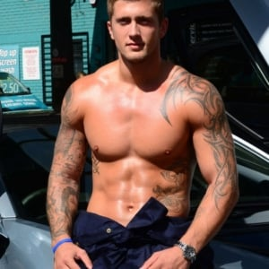 Dan Osborne penis exposed
