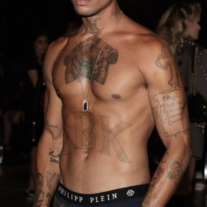 Jeremy Meeks shirtless and sexy