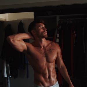 Michael Yerger shirtless pic
