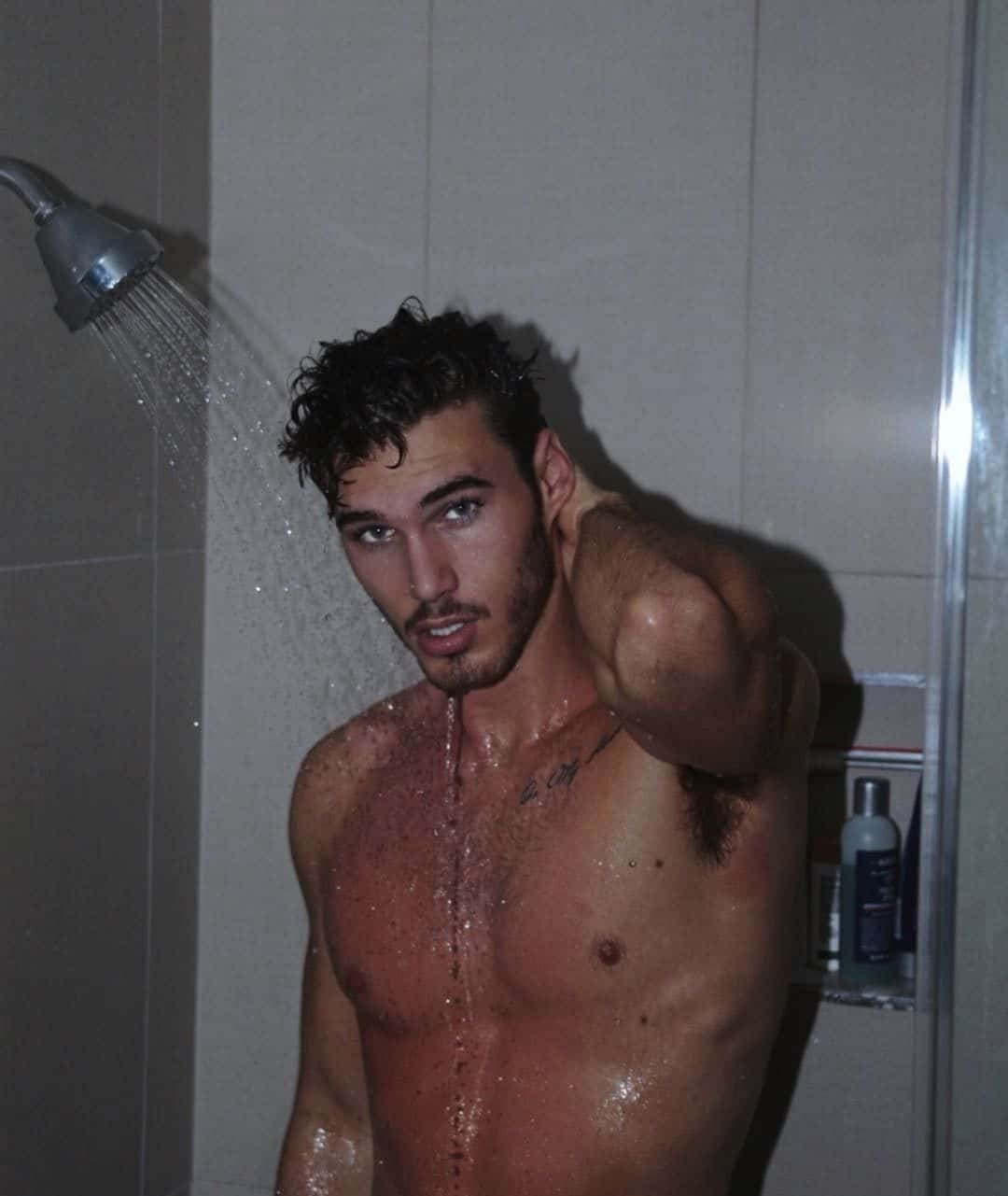 Michael Yerger wet and sexy