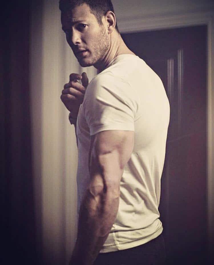 Tom Hopper big muscles