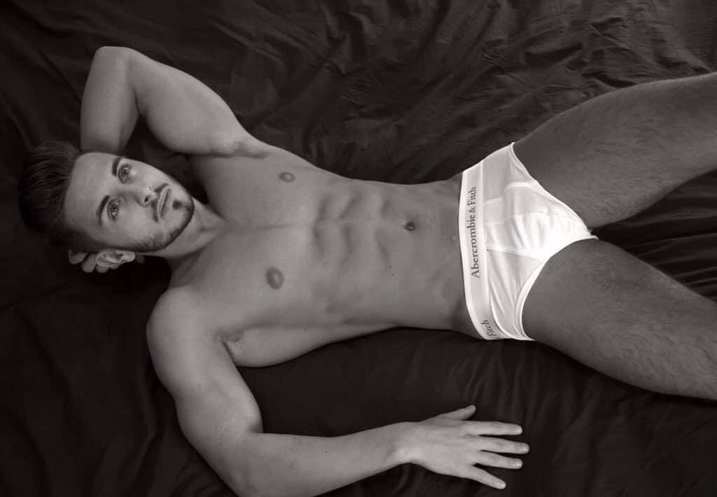 Connor Hunter underwear model