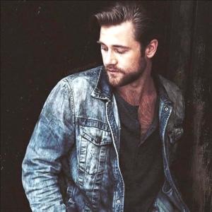 Luke Benward jean jacket