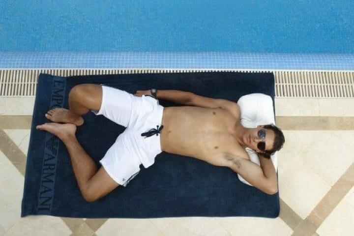 Rafael Nadal chest