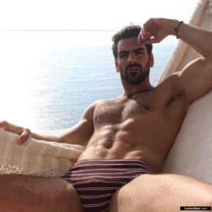 Nyle DiMarco chest