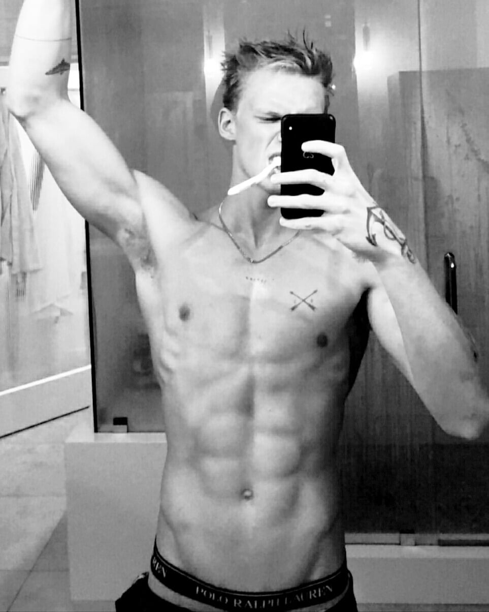 Cody Simpson naked body