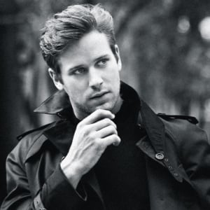Armie Hammer hard dick