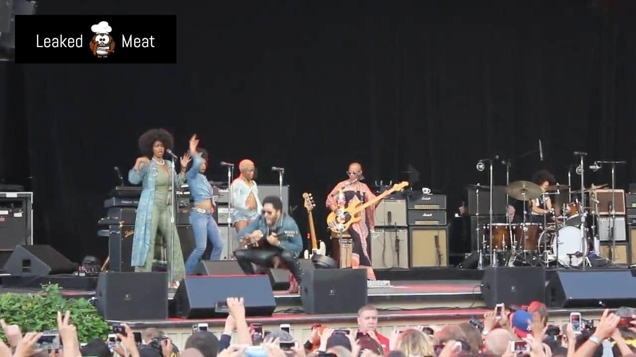 Lenny Kravitz leak from American Woman Live