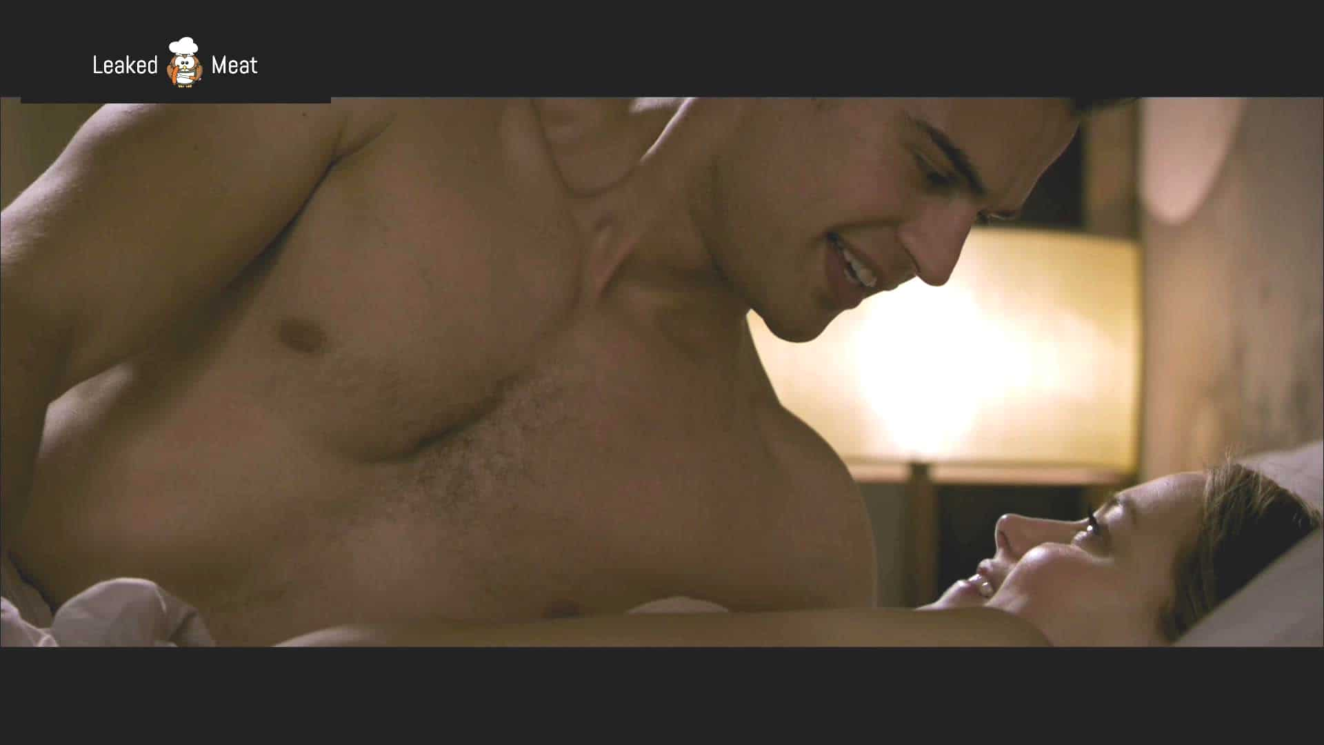 Theo James cock in movie