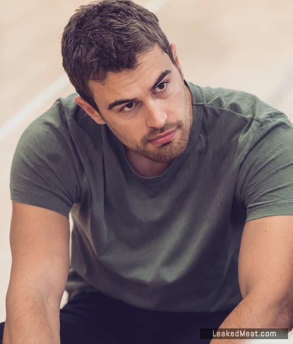 Theo James very attractive