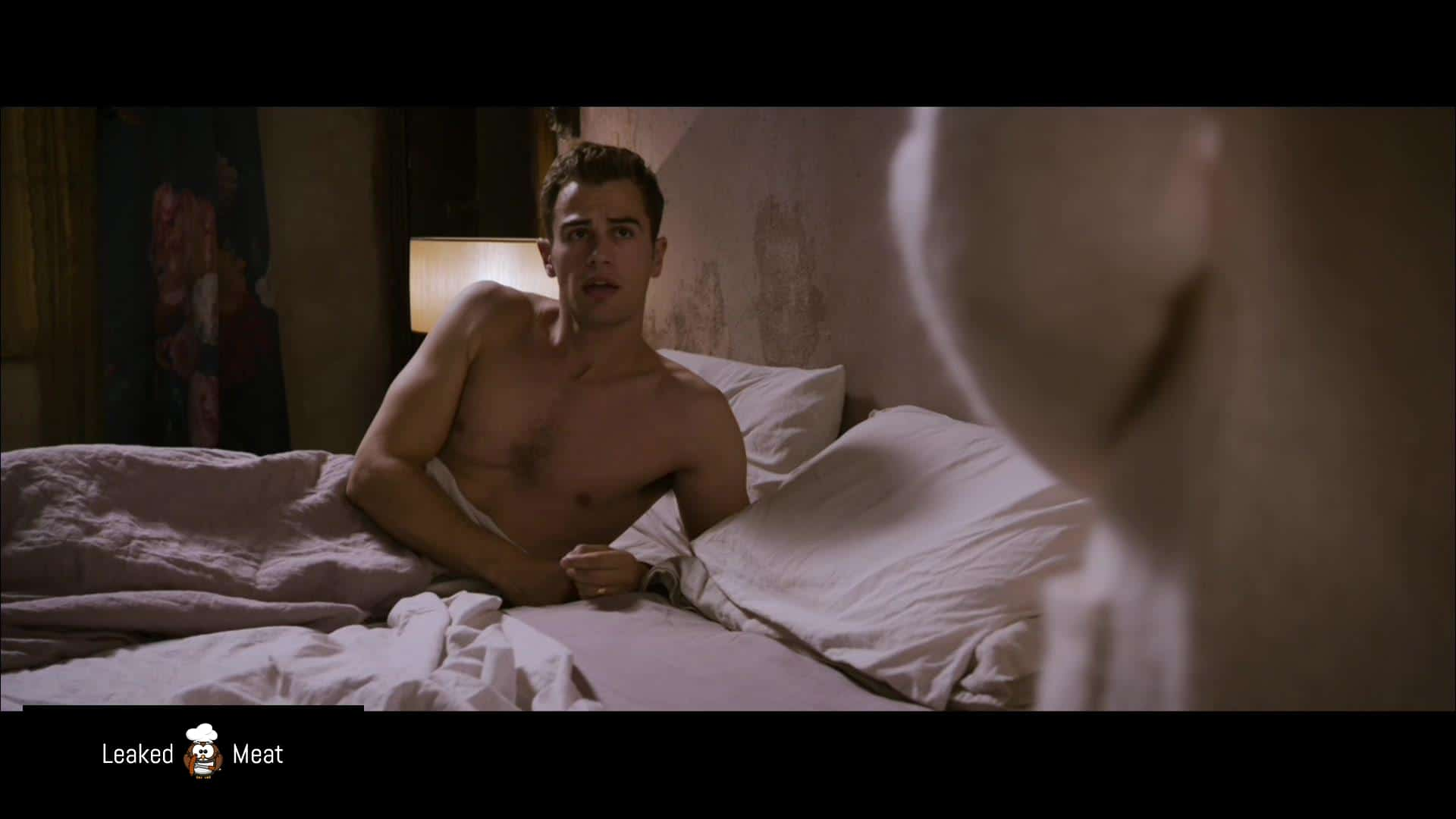Theo James sex in bed