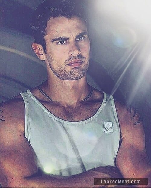 Theo James wife beater