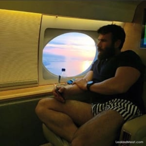 Dan Bilzerian private plane