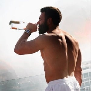 Dan Bilzerian back photo