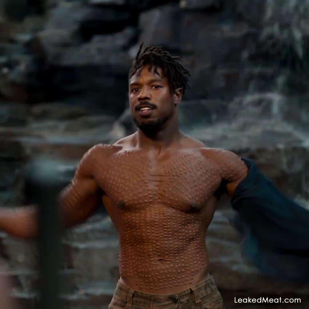 Michael B. Jordan Black Panther sexy