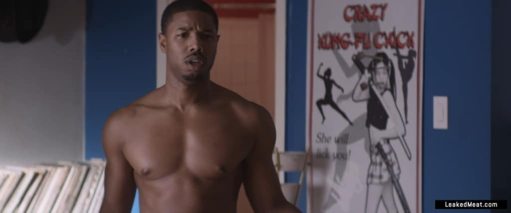 Michael B. Jordan uncensored pic